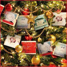 Joulukuusen koristeita - Christmas tree decorations