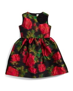 Free shipping, even faster for InCircle on Lanvin Prince de Galles Floral A-Line Dress, Black/Fuchsia, Size 4-6 at Neiman Marcus. Shop the latest s...