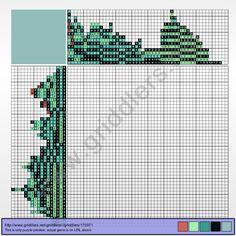 Griddlers Puzzle 175971 Bulba Fett or BobaSaur