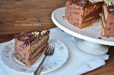 Tort cu alune ciocolata si rom - Retete Timea Something Sweet, Tiramisu, Ethnic Recipes, Rome, Tiramisu Cake