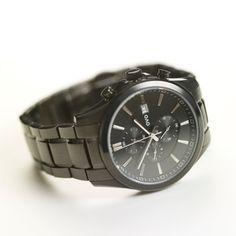Wicker Watch Black, $115, now featured on Fab.