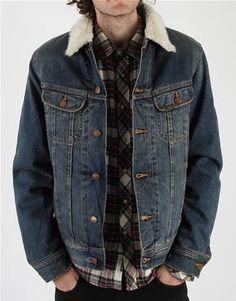 Denim w/ Sherpa collar...can't beat a classic.