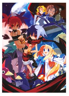 Disgaea. The best Vita game, hands down. (I know, there are only like 4 games on the system worth playing.)