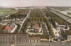 Pleasure Gardens were very popular in the 18th and 19th Centuries.   Vauxhall_Gardens_by_Samuel_Wale_c1751 via Wikipedia