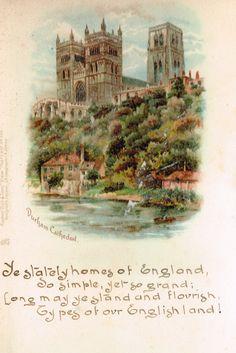 Durham Durham England, North East England, Family History Book, History Books, Durham City, St Johns College, Cathedrals, Ephemera, Castles