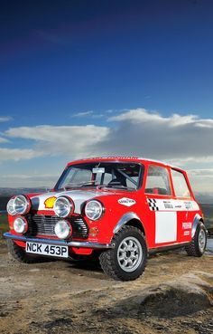 Mini Cooper Rally Love this picture!