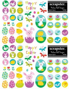 Easter Clipart #easter #bunny