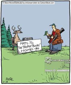 funny hunter cartoon - Google Search