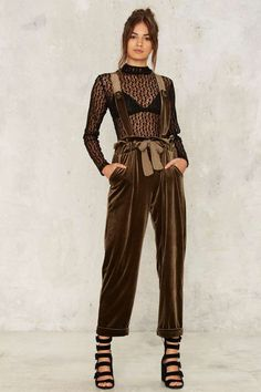 Nasty Gal Toulouse Suspender Pants - Clothes | Rompers + Jumpsuits | Fall Bohemia | Rompers + Jumpsuits