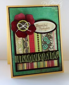 Thankful Thoughts by debdeb - Cards and Paper Crafts at Splitcoaststampers