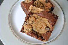Chocolate Chip Brookie Bars