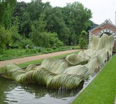 Tetsunori kawana bamboo outdoor sculpture pinterest for Outdoor furniture kawana