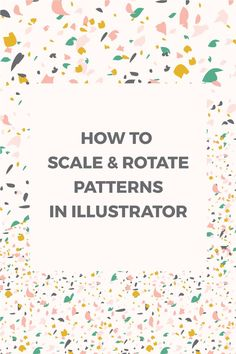 Learn how to scale and rotate patterns and objects using Adobe Illustrator and how to change the default settings.