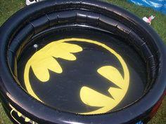 Batsuit comes equipped with swimmy diapers. (See: 25 Signs Your Family's Obsessed--The Very Best Batman Geekery of the Interwebz on Babble! Batman Love, Batman And Batgirl, Superman, Batman Stuff, Batman Bag, Baby Batman, Techno, All Batmans, Nananana Batman