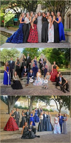 How to take Prom Pictures. Prom Senior Group and Individual Ideas by Dallas Photographer Lisa McNiel