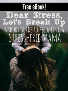 Wanna be a stress-free mama? This little ebook share more than 50 pages of actionable tips to stop being overwhelmed and organize your happiness! Love.