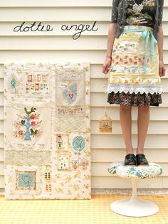 springy apron, dottie angel goodness...