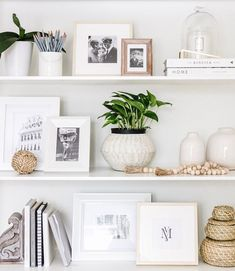 Easy Shelf Styling Tips + Printable Guide | Gathered Living