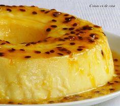 Coisas cá de casa: Pudim de maracujá - Passion fruit pudding