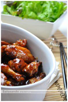 Hot wings, alitas picantes al estilo chino