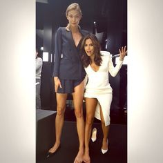 "Eva Longoria Calls Friend Karlie Kloss Her ""Twin"" in Funny Instagram Photo — See the Pic!"