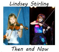 Lindsey then and now! Always a cutie!