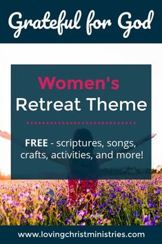 Gather together and celebrate the actions you can take to show how Grateful for God you are with this free women's retreat theme. #retreatthemes #womensministry Say A Prayer, Power Of Prayer, Women's Retreat, Retreat Ideas, Christian Women's Ministry, Christian Retreat, Light Of Christ, Bible Study Group, Inspirational Articles
