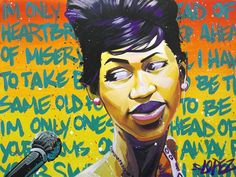 After Midnight: Aretha Franklin by Steven Lopez