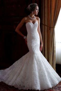 Mon Cheri David Tutera Billie-113212 Wedding Dress $1,525 .  I love my dress but....this. Wow