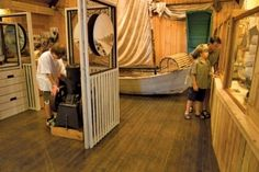 Basin Head Fisheries Museum, Prince Edward Island, Canada.  Quaint museum to learn about the history of fishing in Maritime Canada.