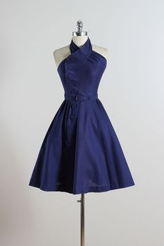 Twist & Twirl . vintage 1950s dress . vintage by millstreetvintage
