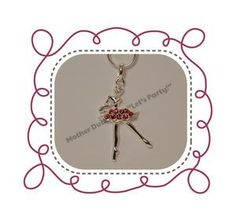 Ballerina Pendant Necklace great for a party favor for a ballerina birthday party