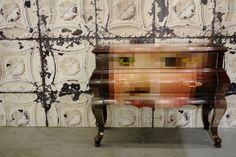 Seletti Pixel Cabinet and NLXL Wallpaper