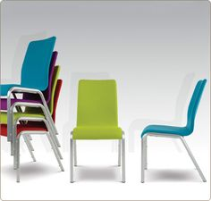 Mendola Conference and banqueting chairs are quirky and stylish.