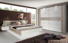 Schlafzimmer-set Mit Bett 180 X 200 Cm In Eiche Sonoma Woody 33 ...