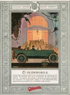 Oldsmobile, USA (1920)- I chose this because it reminds me of one of Gatsby's parties.