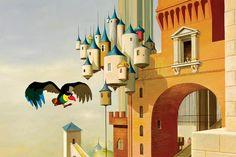 """""""Le Roi et l'Oiseau"""", Paul Grimault, 1952"""