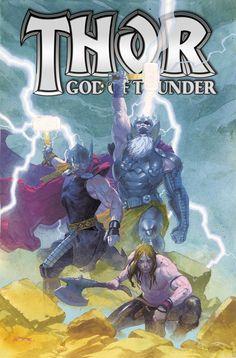 Thor: God of Thunder #HC Vol2 (Virgin Cover) #Marvel #Thor #GodOfThunder (Cover Artist: Esad Ribic) On Sale: 10/9/2013