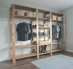 Build This Freestanding Closet For Around 200 dollars Homesteading  - The Homestead Survival .Com