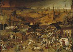The Triumph of Death by Pieter Bruegel the Elder (1562) @ Museo Nacional del Prado (Madrid, ES)