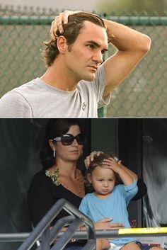 Roger Federer: Like Father Like Daughter...