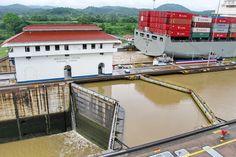 Compuertas de Miraflores - CANAL DE PANAMA