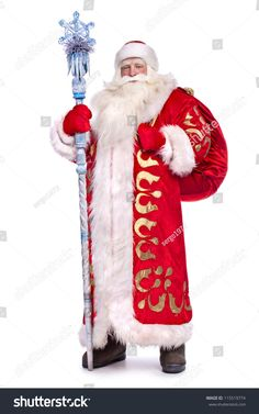 stock-photo-santa-claus-in-full-growth-with-a-staff-and-a-bag-115519774.jpg (1001×1600)