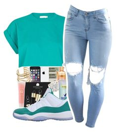 """Untitled #240"" by mindset-on-mindless ❤ liked on Polyvore featuring beauty, River Island and NIKE"
