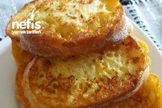 Yumurtalı Ve Sütlü Ekmek Kızartması Tarifi