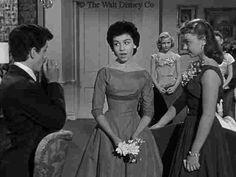 Steve Stevens, Annette and Doreen Tracey in a scene of the Annette serial for Walt Disney