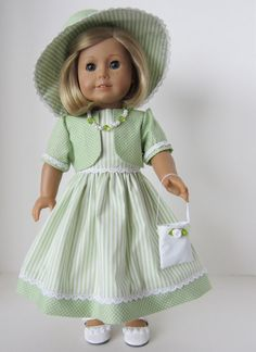 American Girl Doll: Going To Tea With Grandma by SewSpecialByBarb