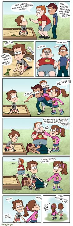 So that's how dipper got his name