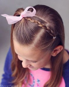 Simple half up style for big sis today! Go to this hashtag to see ALL the half up styles that I've done over the years // Simple half up style for big sis today! Go to this hashtag to see ALL the half up styles that I've done over the years // Girls Hairdos, Baby Girl Hairstyles, Princess Hairstyles, Cute Hairstyles, Black Hairstyles, Toddler Hairstyles, Teenage Hairstyles, Long Haircuts, Simple Girls Hairstyles