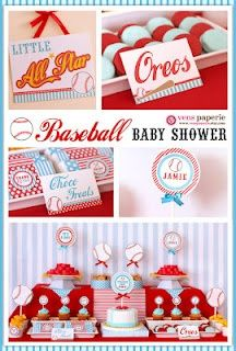 Baseball Baby Shower @Victoria Brown Clute